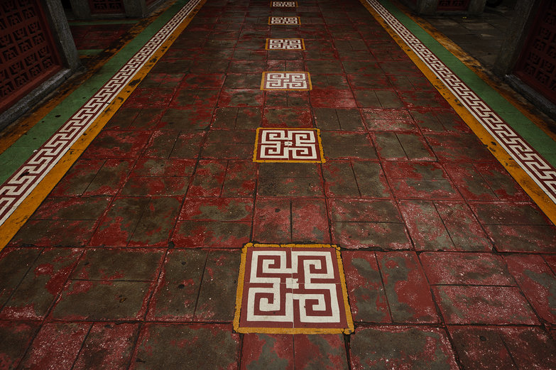 Phuoc Kien Assembly Hall Courtyard Floor