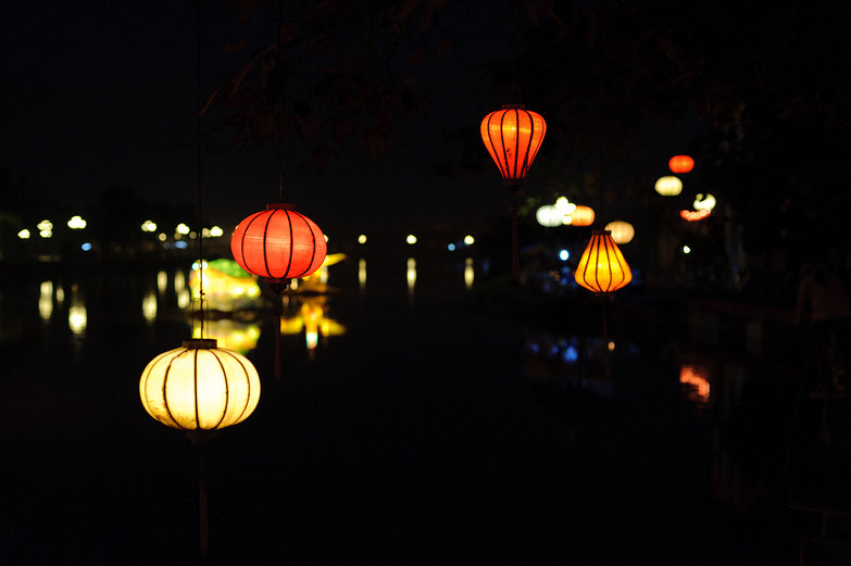 Hội An Lanterns by Night
