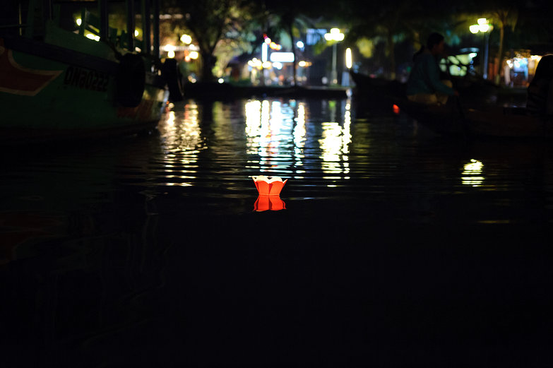 Hi An Lantern Festival Floating Lantern