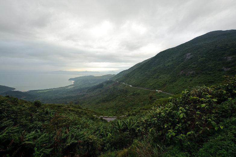 Halfway Up Hai Van Pass