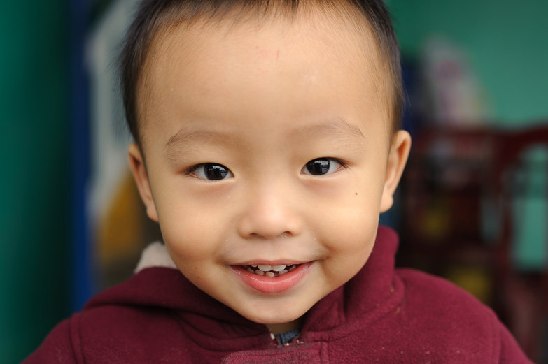 Cute Vietnamese Boy