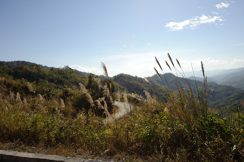 Curvy Mountain Road, Northern Lao