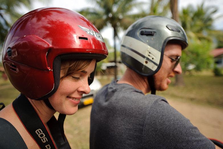 Cosmonauts Natasha & Pete