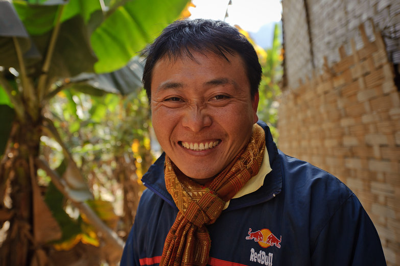 Friendly Lao Man / Interpreter