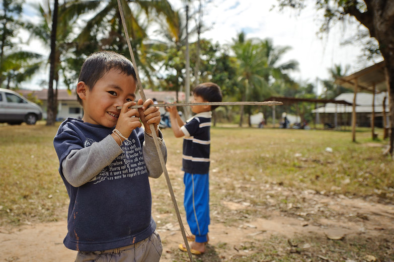 Lao Boy & His Bow and Arrow
