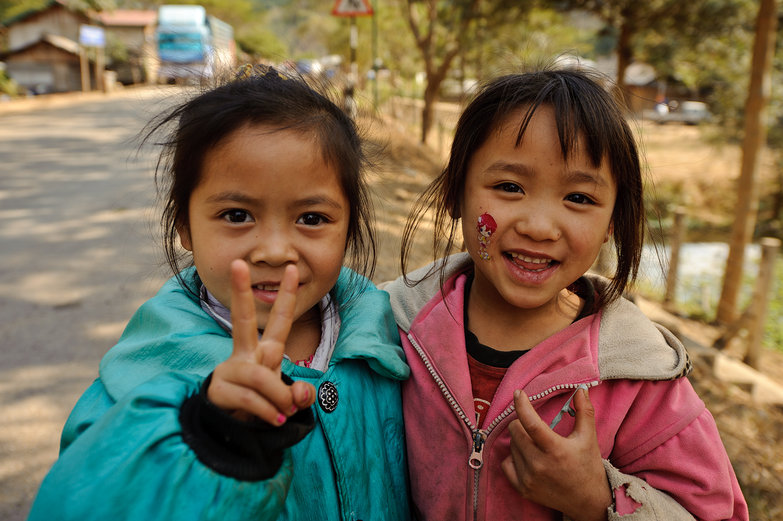 Cute Lao Girls
