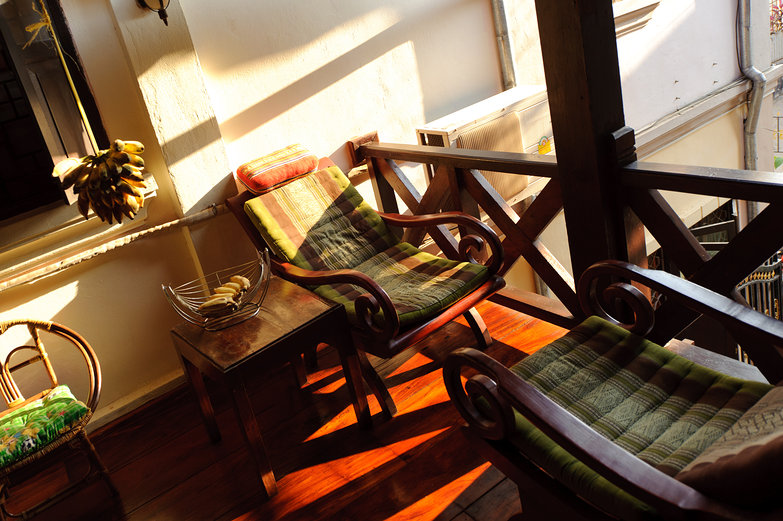 Morning Light at Thida Guesthouse