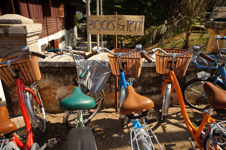 Bicycles for Rent, Luang Prabang