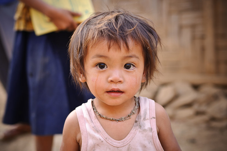 Tear-Stained Lao Girl
