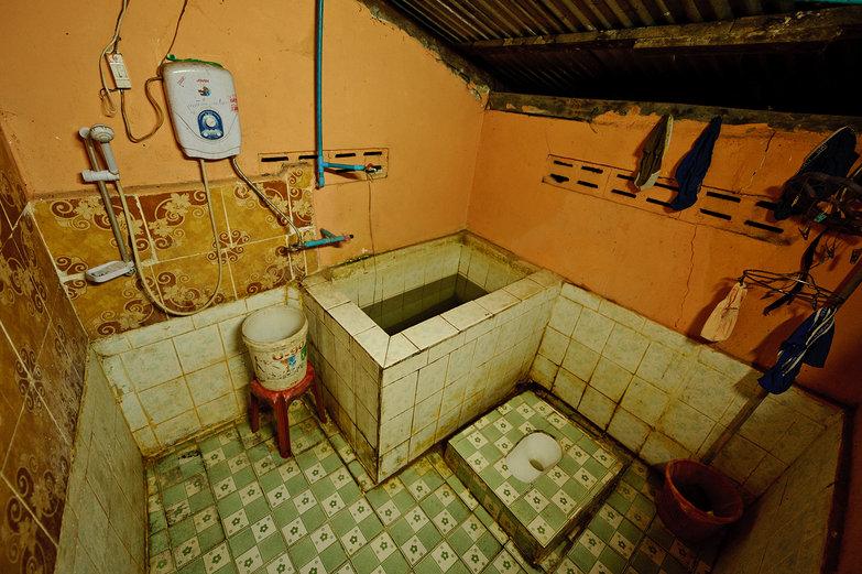 Kioukacham Guesthouse Bathroom