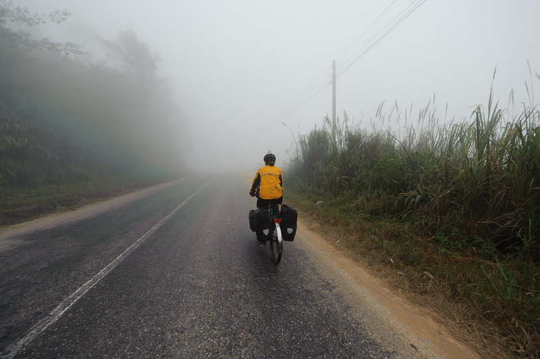 Tara Riding in the Mist