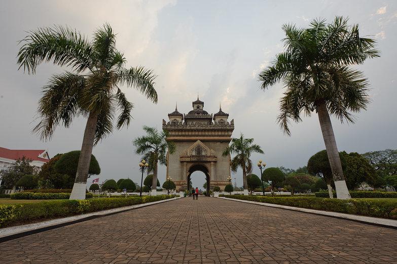 Vientiane Roundabout Building