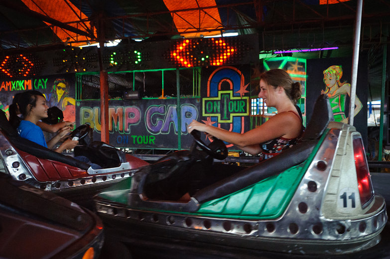 Tara Driving Bumper Car