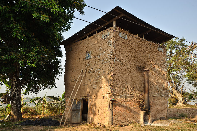 Tobacco Drying Barn