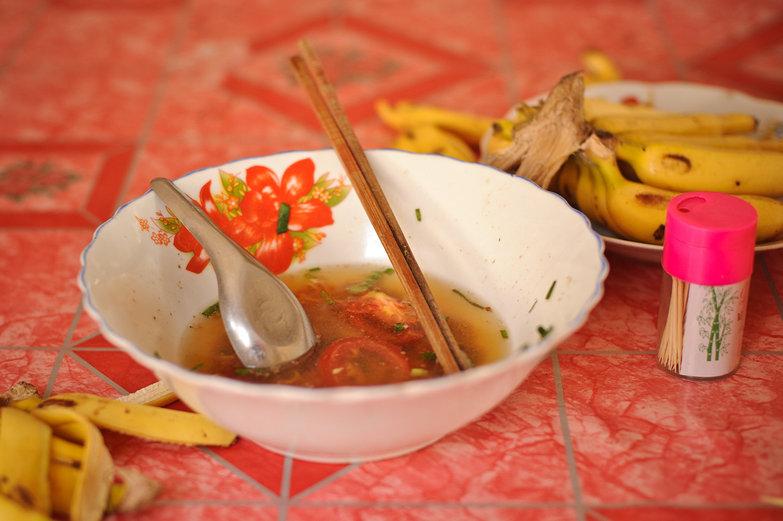 Ramen & Bananas for Lunch