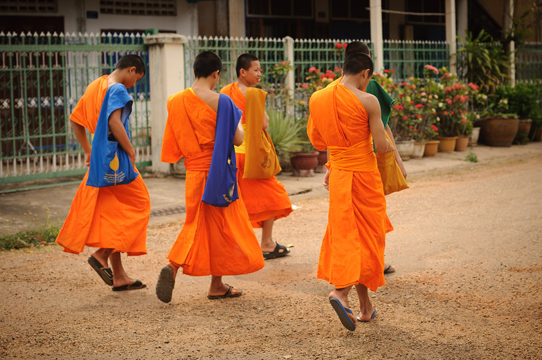 Savannakhet Monks
