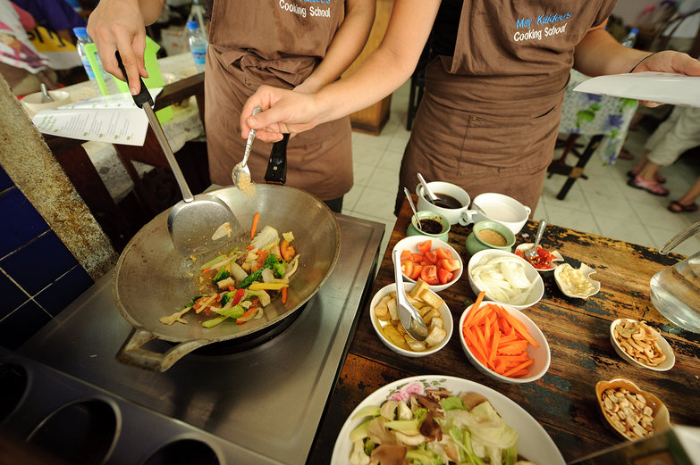 Cooking Isaan Vegetables