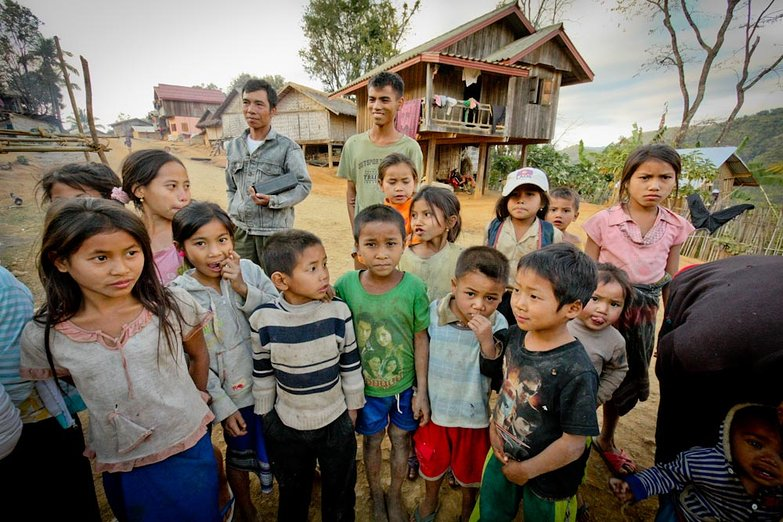 Lao Village Kids (By Natasha)