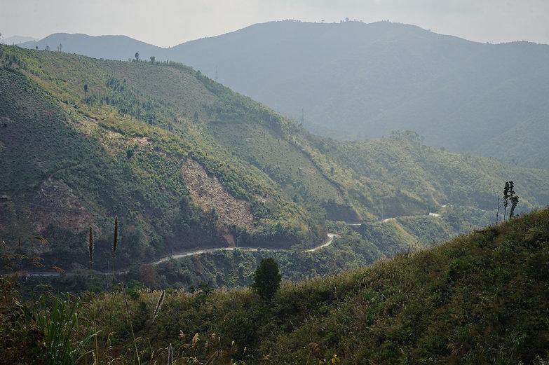 Lao Mountain Road