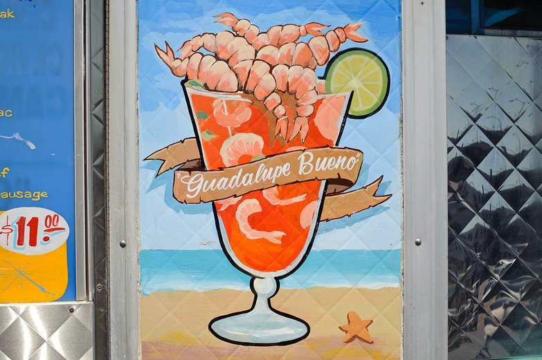 Guadalupe Bueno - Shrimp Cocktail Painting