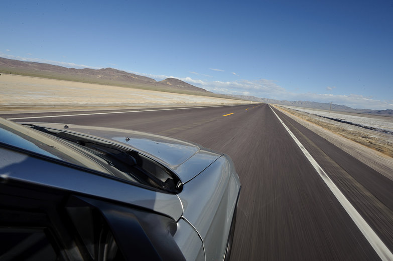 Driving the Loneliest Road, Nevada