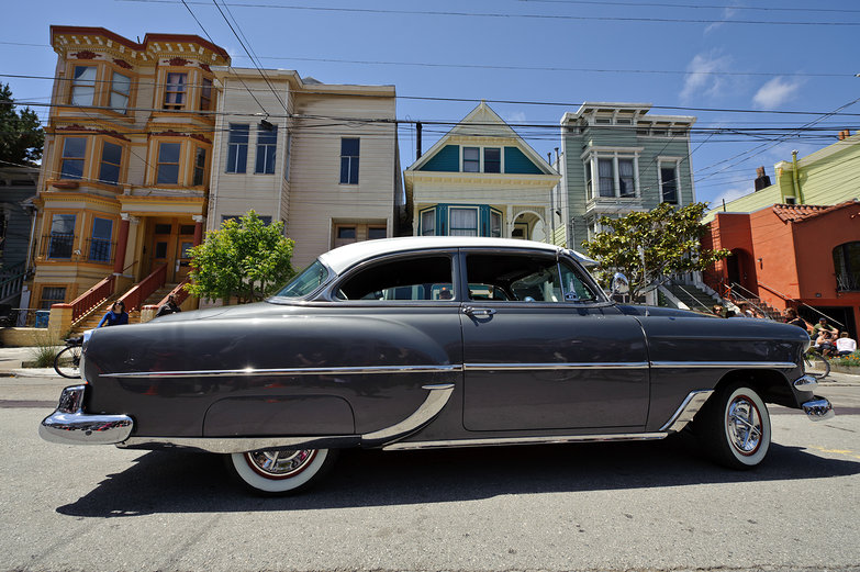Low Rider Car in San Francisco