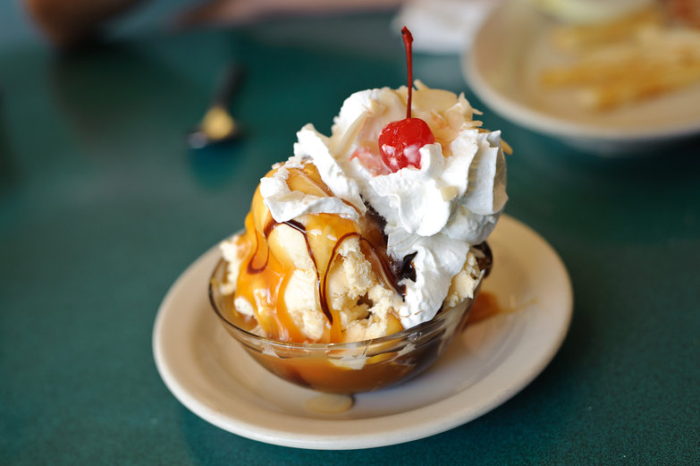 Obscene Chocolate Caramel Sundae