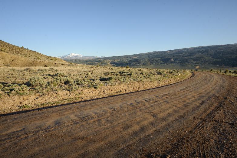 Colorado Mountain Dirt Road