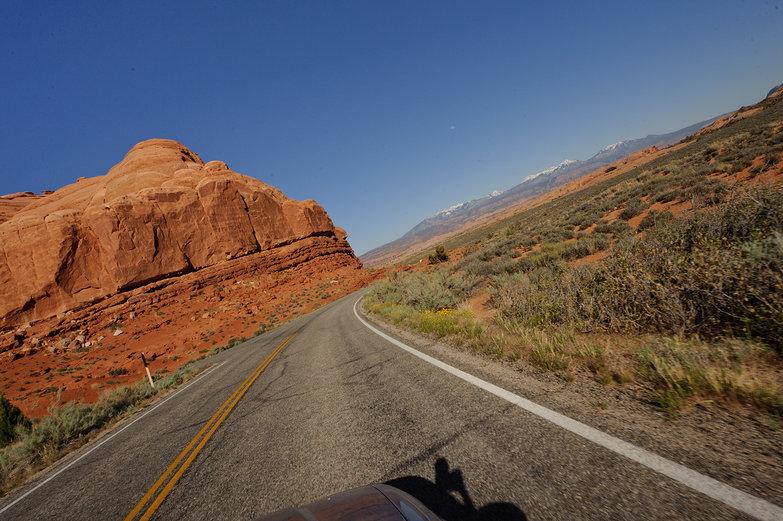 Driving in Utah