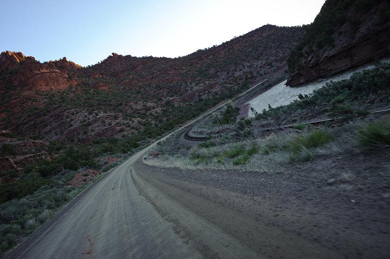 Morning Drive in Colorado