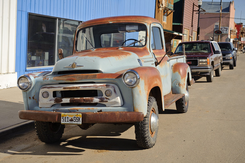 Awesome Old, Rusty Truck