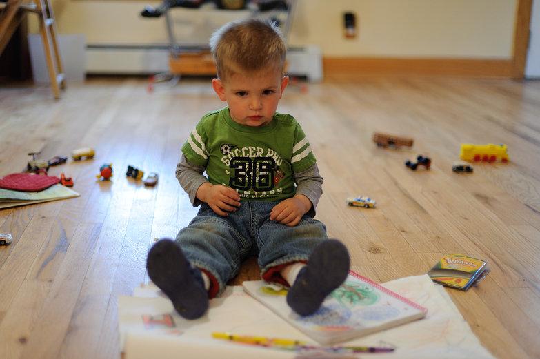 Isaac & Crayons