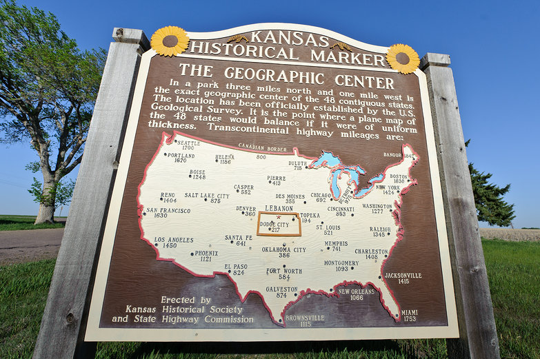 The Geographic Center of the USA