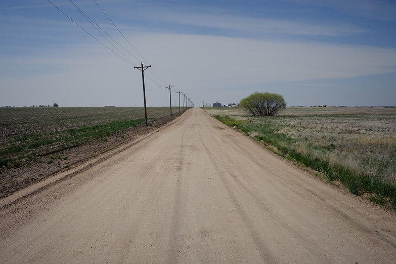 Dusty Flat Eastern Colorado Road