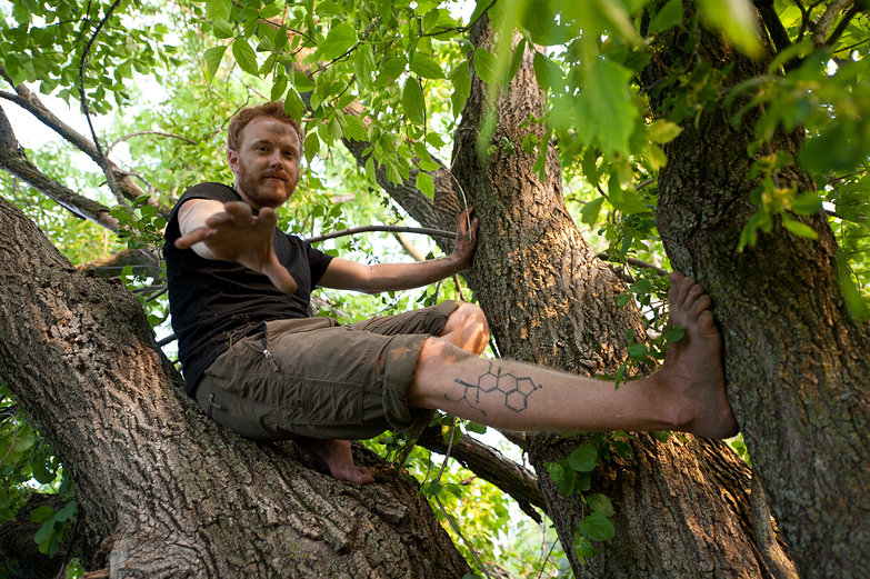 Tyler in a Tree