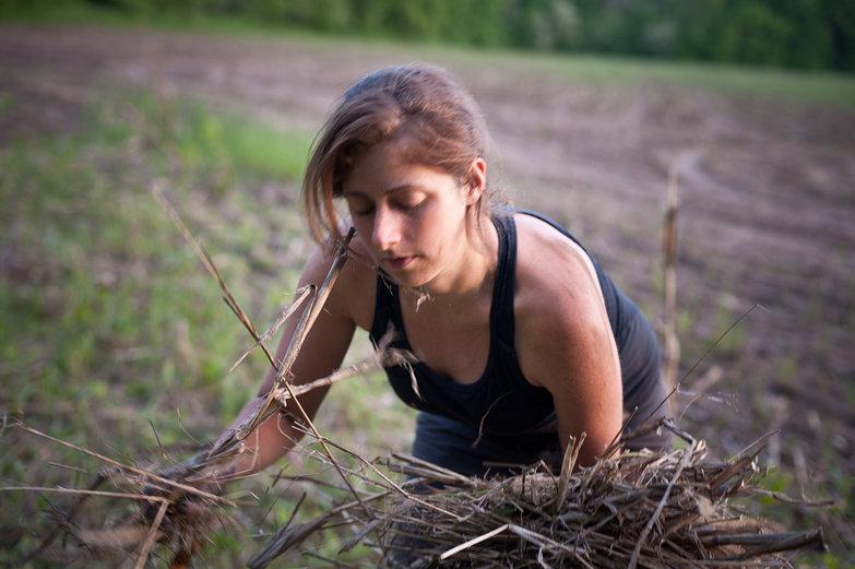 Tara Clearing Brush