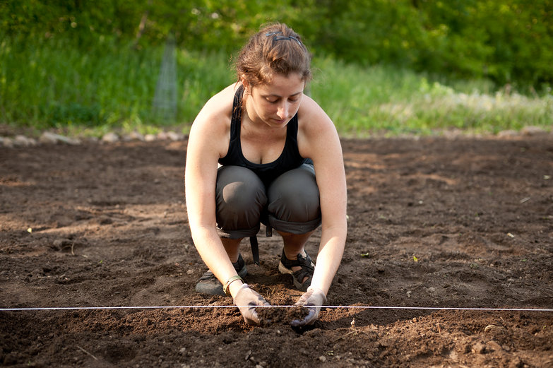 Tara Loosening the Soil