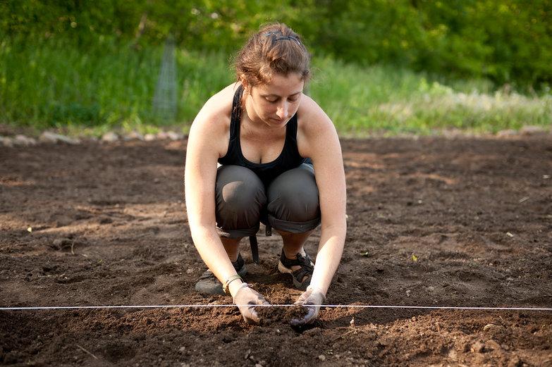 Tara Loosening the Soil