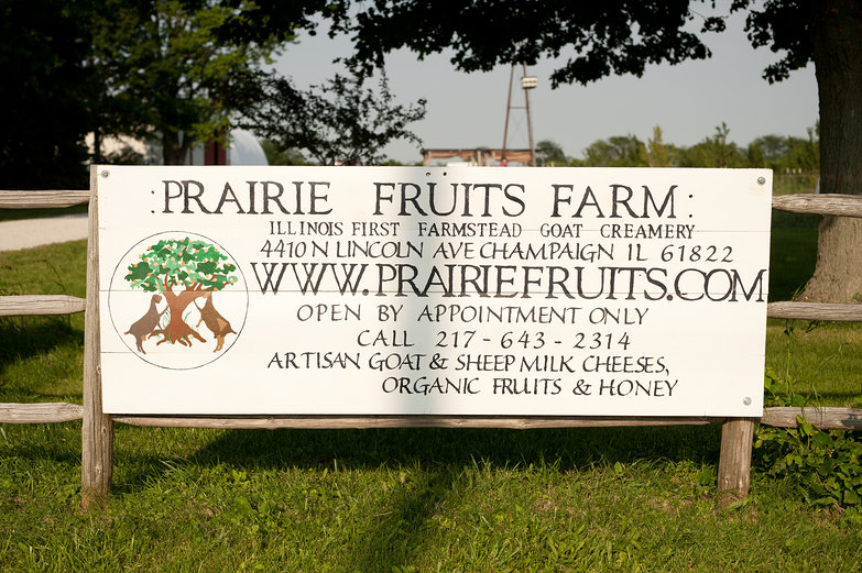 Prairie Fruits Farm Sign