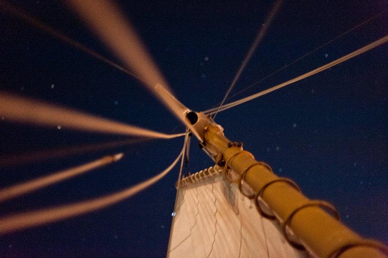 Mast at Night