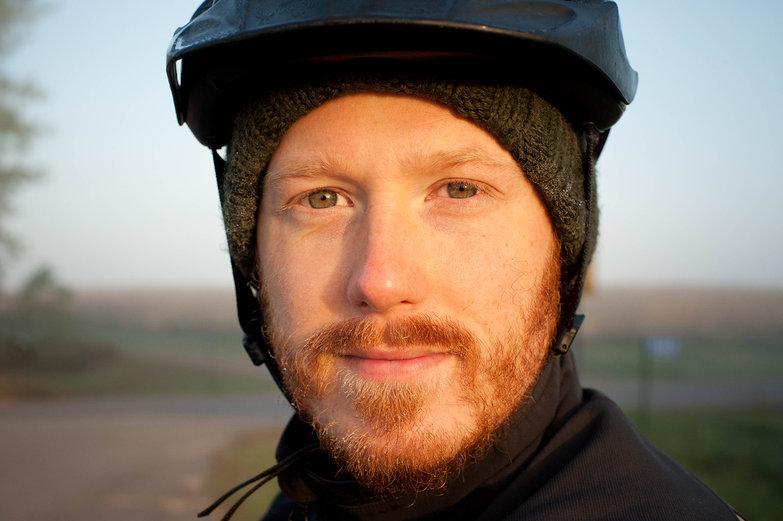 Tyler in Helmet
