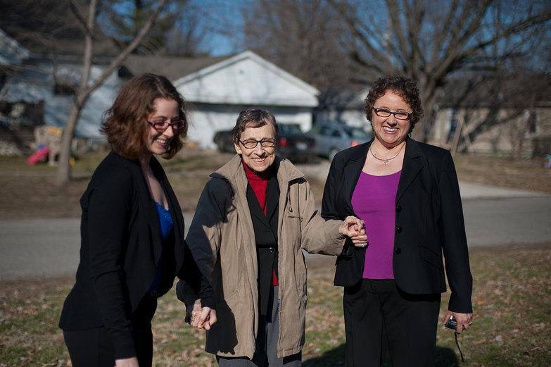 Three Generations (Tara, Grandma Jeanne, Mom (Lisa))