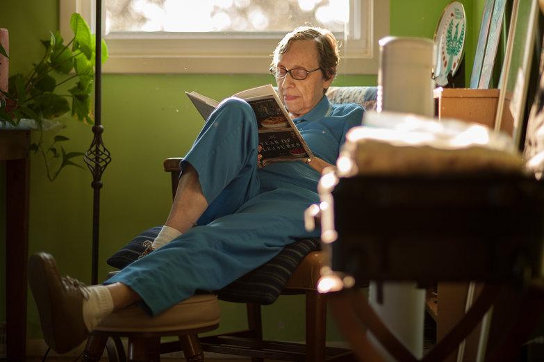 Grandma Jeanne Reading