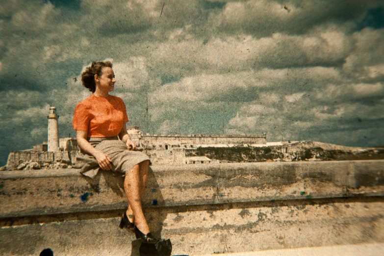 Grandma Jeanne in Havana, Cuba