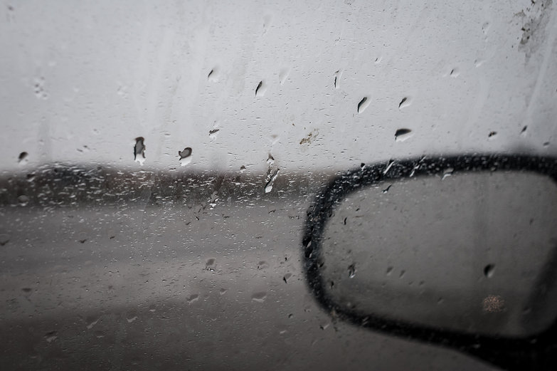 Rainy Car Window