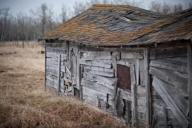 Abandoned Saskatchewan Barn