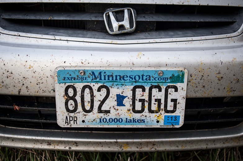 Buggy License Plate