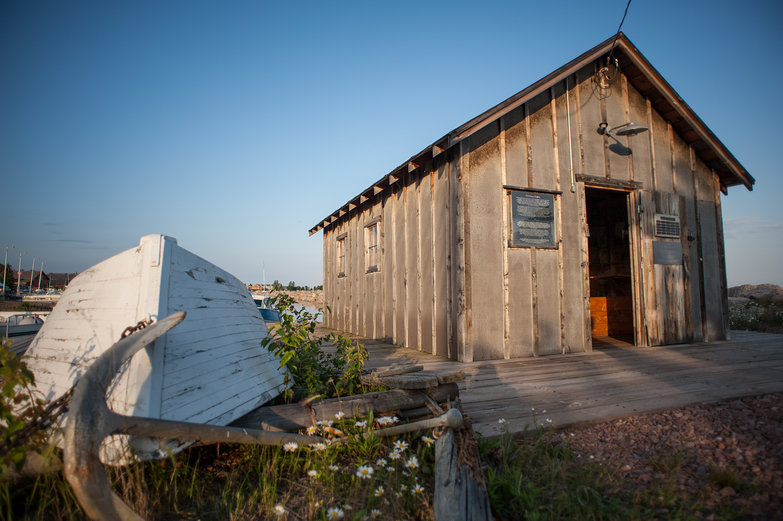 Fishing Shack in Grand Marais, Minnesota