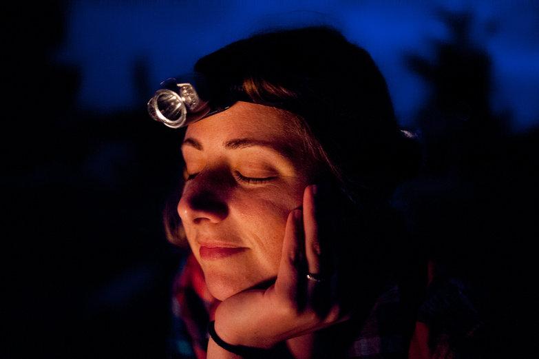 Tara by the Campfire
