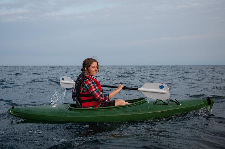 Tara Kayaking